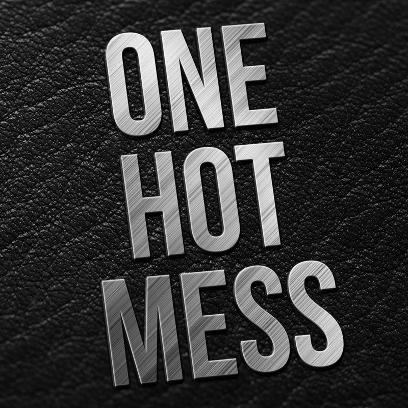 ONE HOT MESS Logo