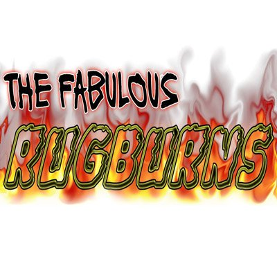 THE FABULOUS RUGBURNS Logo
