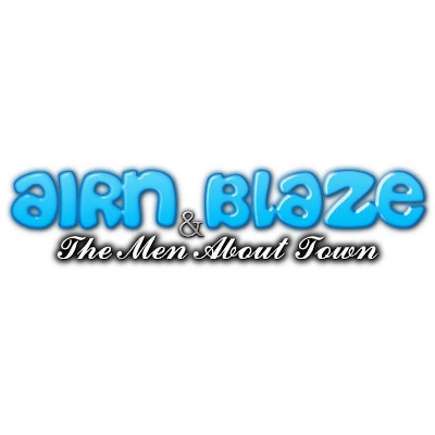 AIRN BLAZE AND THE MEN ABOUT TOWN Logo